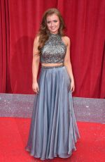 MAISIE SMITH at British Soap Awards 2018 in London 06/02/2018