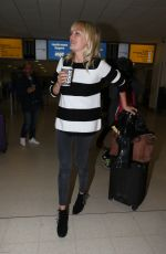 MALIN AKERMAN and Jack Donnelly at Aberdeen Airport 06/22/2018