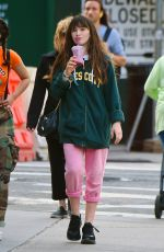 MALINA WEISSMAN Out and About in New York 06/12/2018