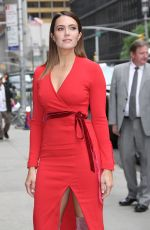 MANDY MOORE Arrives at Late Show with Stephen Colbert in New York 06/06/2018