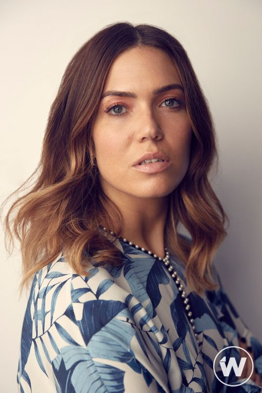 MANDY MOORE for The Wrap 2018