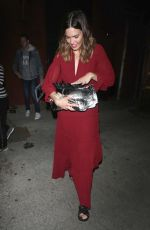 MANDY MOORE Leaves Largo Coronet in Los Angeles 06/01/2018