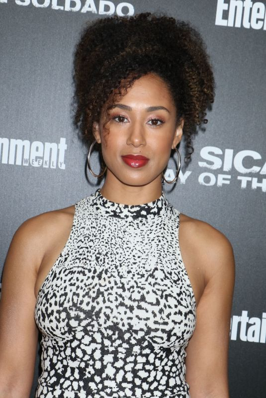 MARGOT BINGHAM at Sicario: Day of the Soldado Special Screening in New York 06/18/2018