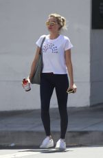 MARGOT ROBBIE Leaves a Gym in Los Angeles 06/27/2018