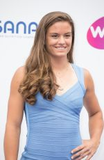 MARIA SAKKARI at WTA Tennis on the Thames Evening Reception in London 06/28/2018