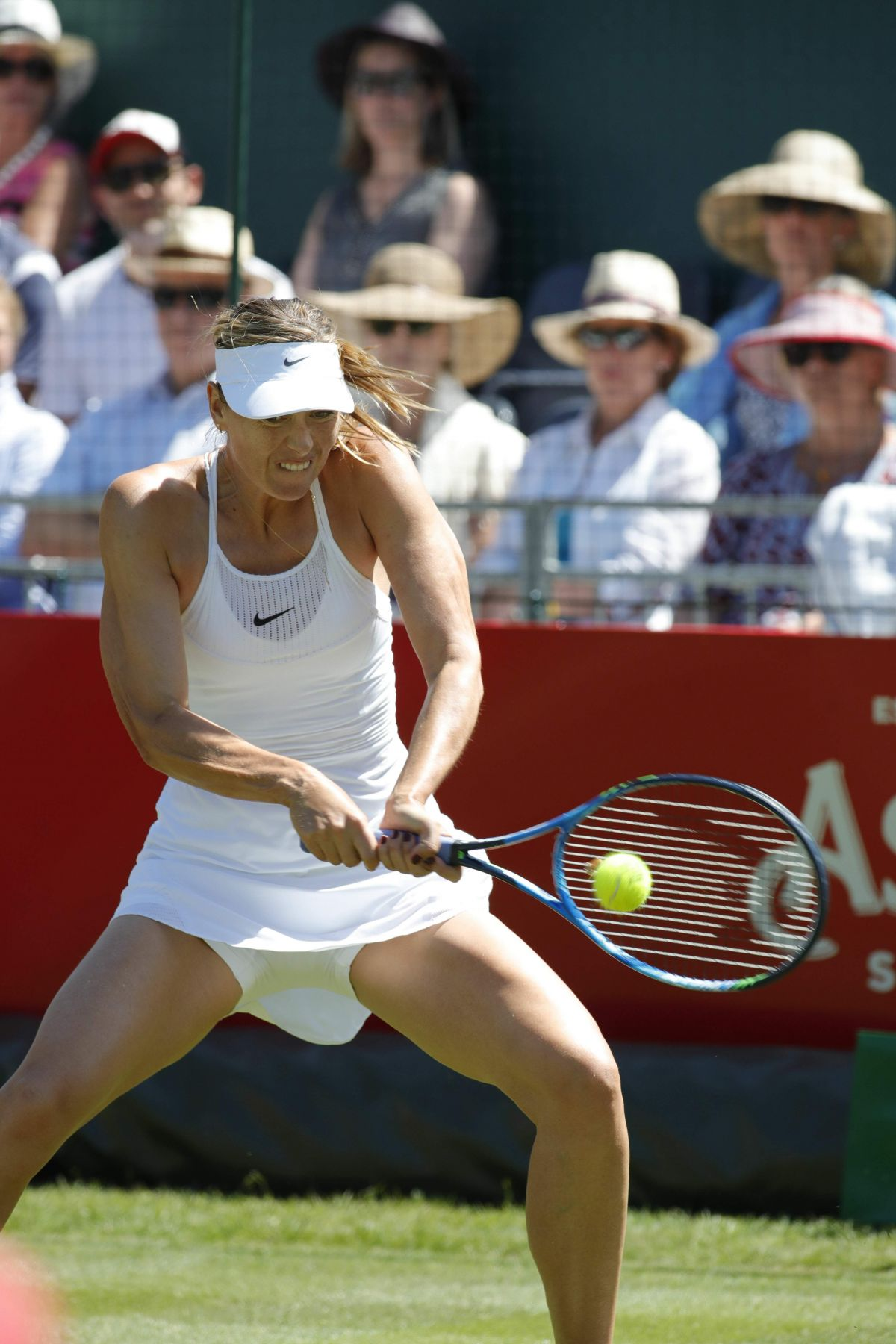 MARIA SHARAPOVA at Aspall Tennis Classic Match at ...