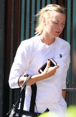 MARIA SHARAPOVA Out and About in London 06/22/2018