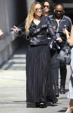 MARIAH CAREY Arrives at Jimmy Kimmel Live in Hollywood 06/06/2018
