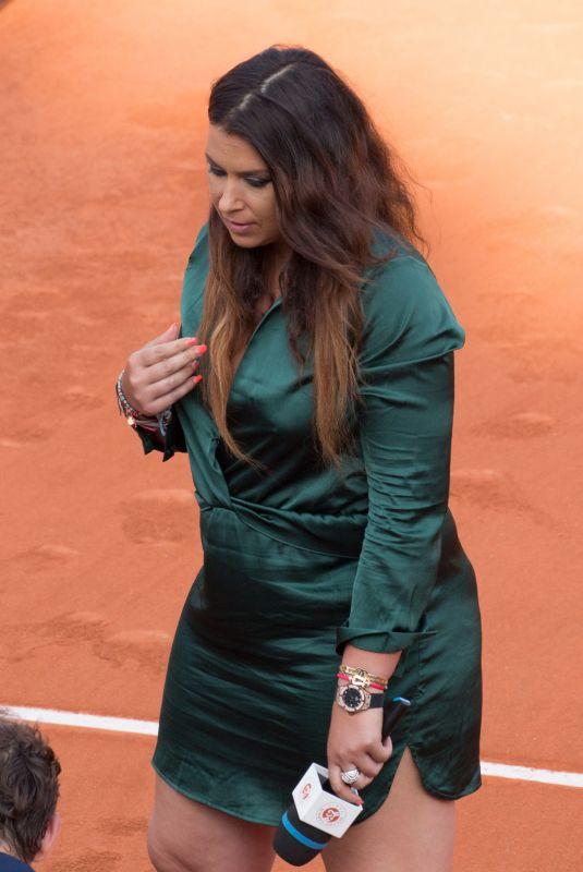 MARION BARTOLI at Roland Garros in Paris 05/31/2018