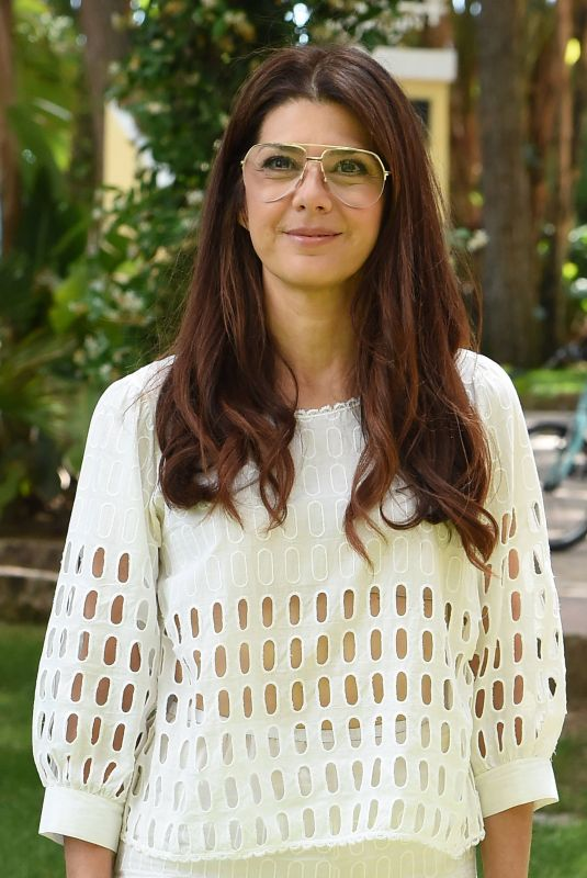 MARISA TOMEI at Filming Italy Sardegna Festival Dinner in Cagliari 06/15/2018