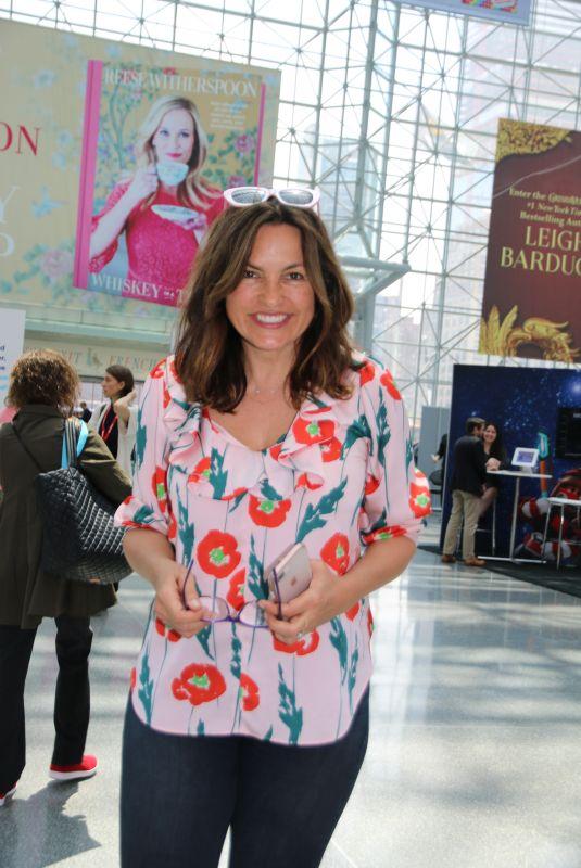 MARISKA HARGITAY at Book Expo America in New York 06/01/2018