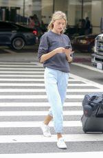 MARTHA HUNT Leaves Los Angeles International Airport 06/22/2018