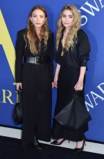 MARY KATE and ASHLEY OLSEN at CFDA Fashion Awards in New York 06/05/2018