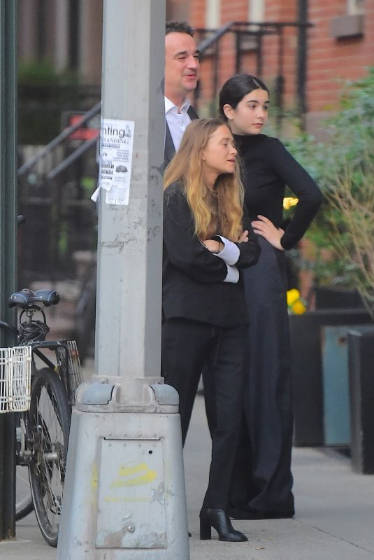 MARY KATE OLSEN and Olivier Sarkozy Out in New York 06/11/2018