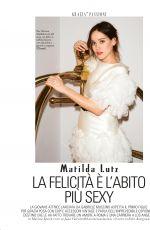 MATILDA LUTZ in Grazia Magazine, June 2018