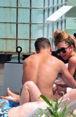 MEGAN MCKENNA in Bikini at a Beach in Mallorca 06/08/2018