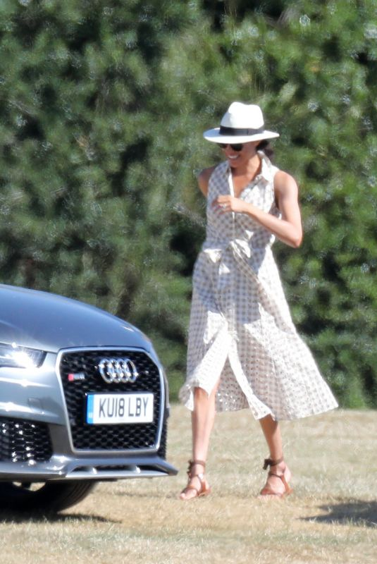 MEGHAN MARKLE at Audi Polo Cup in Berkshire 06/30/2018