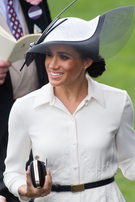 MEGHAN MARKLE at Royal Ascot 2018 in Ascot 06/19/2018
