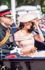 MEGHAN MARKLE at Trooping the Colour Ceremony in London 06/09/2018