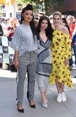 MEGHANN FAHY, KATIE STEVENS and AISHA DEE at Good Morning America in New York 06/12/2018
