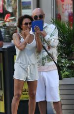 MELANIE BROWN and Gary Madatyan out in New York 06/25/2018