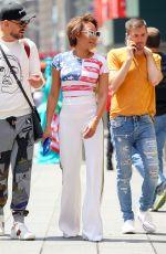 MELANIE BROWN in American Flag T-Out in New York 06/27/2018
