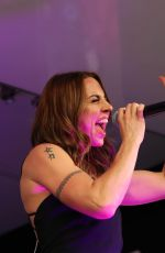 MELANIE CHISHOLM Performs at Franciacorta Outlet of Rodengo Saiano in Brescia 06/16/2018