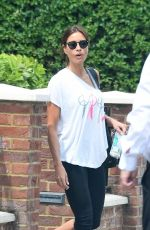 MELANIE SYKES Out and About in London 06/13/2018
