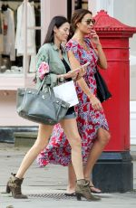 MELANIE SYKES Out Shopping in London 05/31/2018