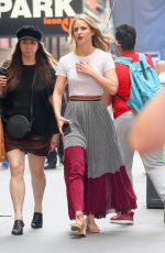 MELISSA BENOIST Out and About in New York 06/01/2018