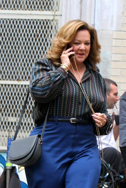 MELISSA MCCARTHY on the Set of The Kitchen in New York 06/27/2018