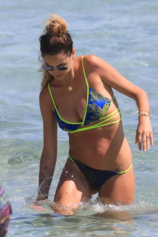MELISSA SATTA in Bikini at a Beach in Ibiza 06/12/2018
