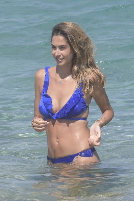 MELISSA SATTA in Bikini at a Beach in Porto Rotondo 06/18/2018