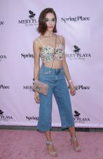 MICHELLE DANTAS at Mery Playa by Sofia Resing Launch in New York 06/20/2018