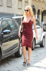 MICHELLE HUNZIKER Out for Lunch in Milan 06/25/2018