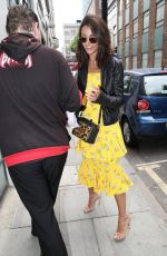 MICHELLE KEEGAN Arrives at AOL Building in London 06/05/2018