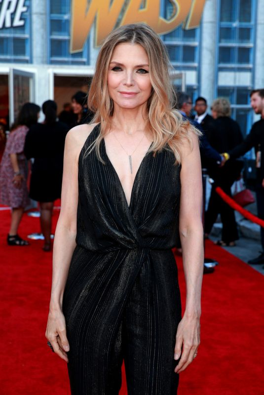 MICHELLE PFEIFFER at Ant-man and the Wasp Premiere in Los ...
