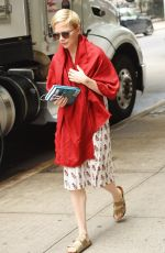 MICHELLE WILLIAMS on the Set of After the Wedding in New York 06/01/2018