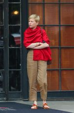 MICHELLE WILLIAMS Out in New York 06/07/2018