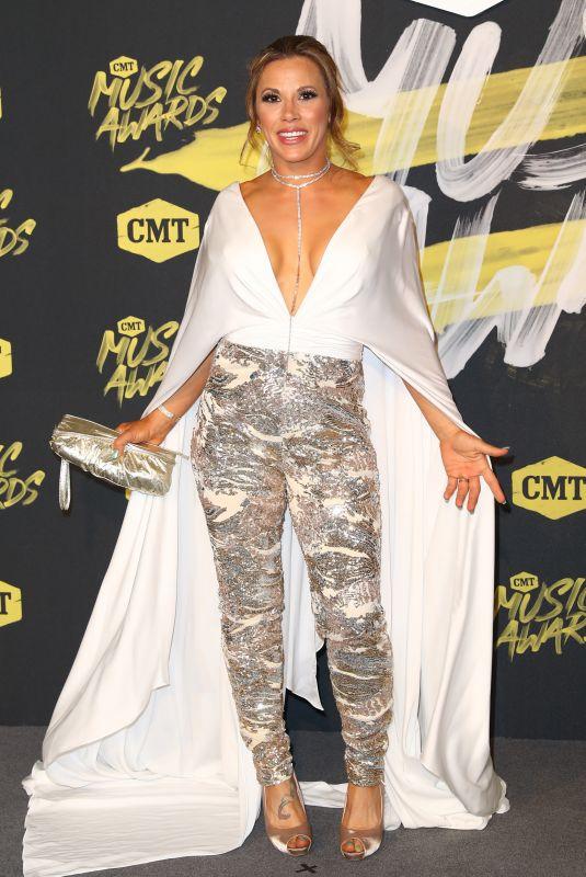 MICKIE JAMES at CMT Music Awards 2018 in Nashville 06/06/2018