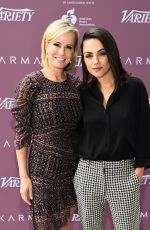 MILA KUNIS at Variety Path to Parity Summit in Los Angeles 06/06/2018