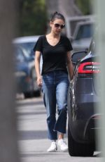 MILA KUNIS Out and About in Los Angeles 06/04/2018