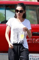 MILA KUNIS Out and About in Los Angeles 06/14/2018