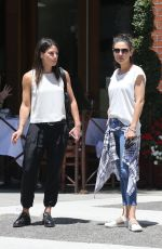 MILA KUNIS Out for Lunch at La Scala in Beverly Hills 06/12/2018