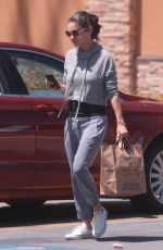 MILA KUNIS Shopping at Walgreens in Los Angeles 06/11/2018
