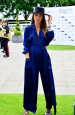 MILLIE MACKINTOSH at Investec Derby Festival Ladies Day at Epsom Racecourse 06/01/2018