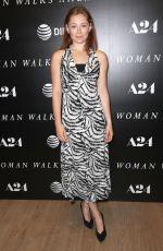 MINA SUNDWALL at Woman Walks Ahead Special Screening in New York 06/26/2018