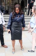 MINDY KALING Out and About in London 06/13/2018