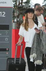 MINKA KELLY at Airport in Toronto 06/18/2018