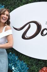 MINKA KELLY at Dove Chocolate Cocoa Farmers Market in Santa Monica 06/26/2018